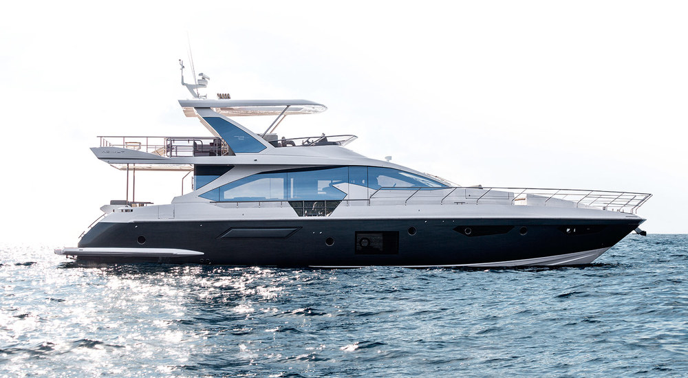 Azimut 72 - new design - World Premiere