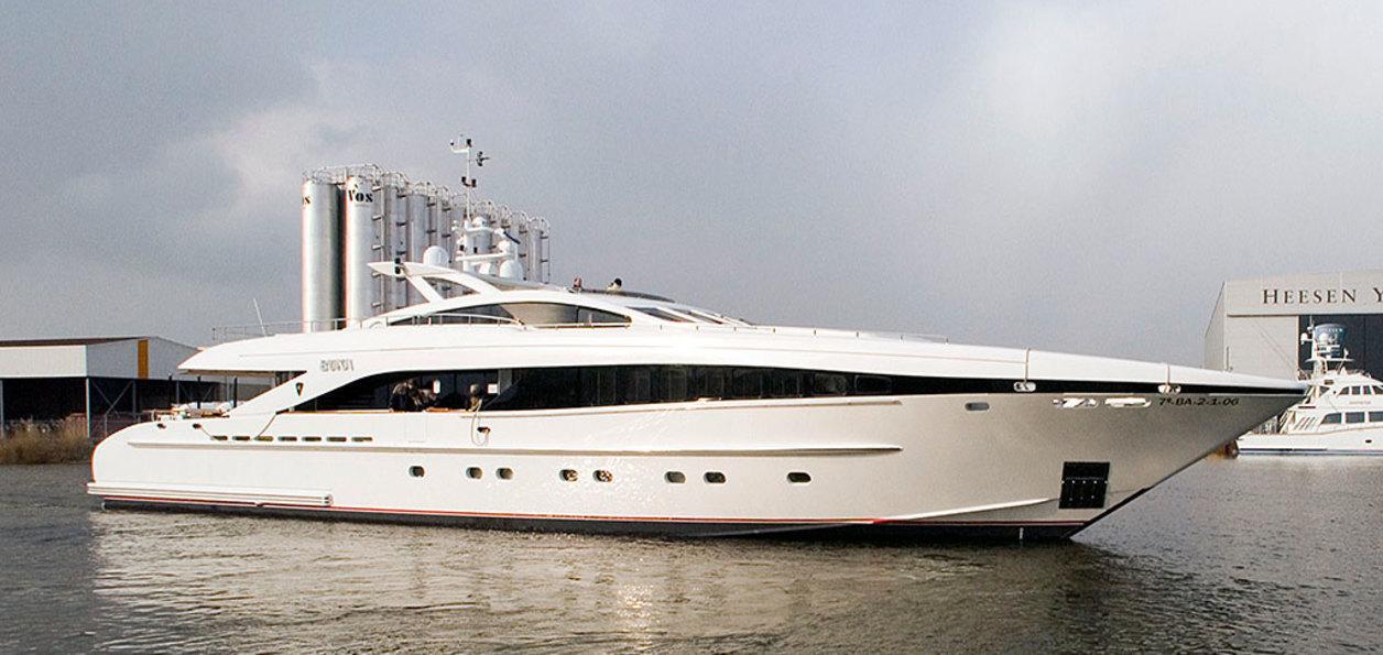 Yacht for sale Heesen 37 m Ilona: price 8750000 € > Motor