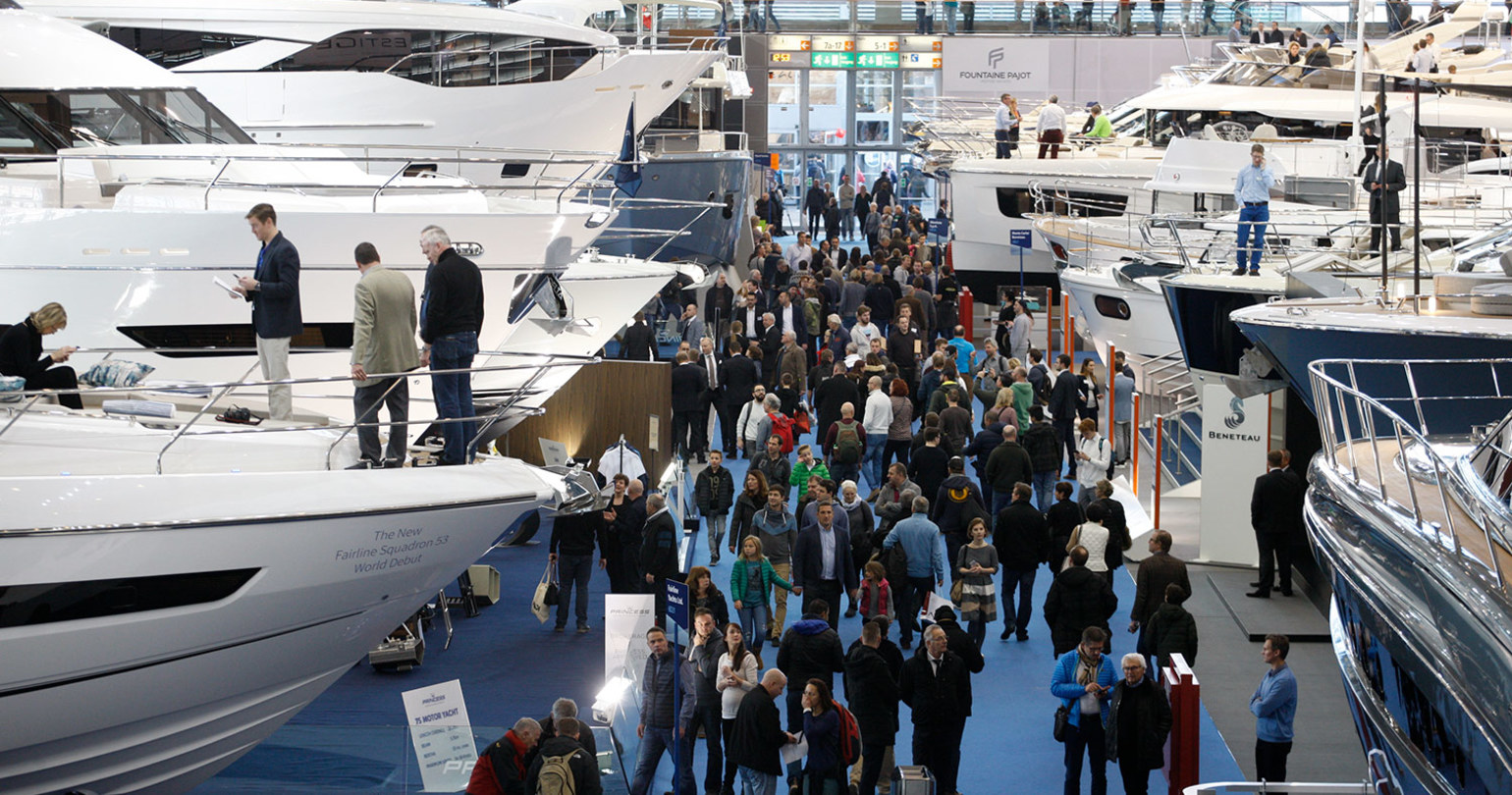 Dusseldorf Boat Show 2018: 20-28 January