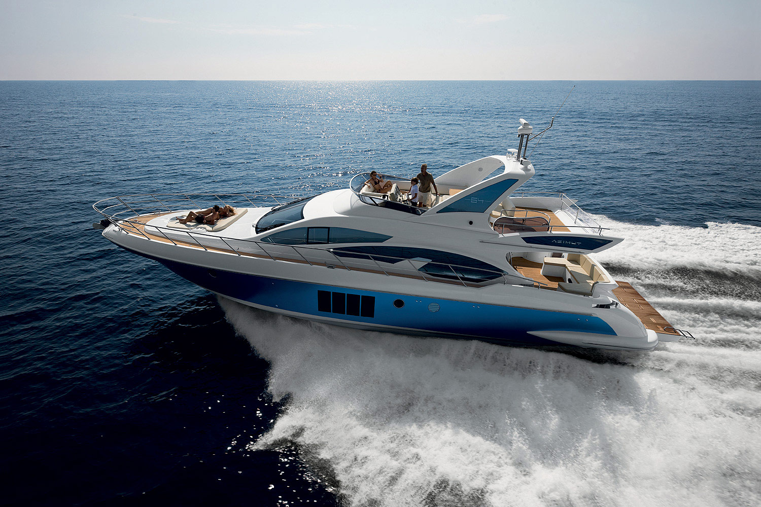 Azimut 64 - Flybridge collection - Collections - Sale of yachts ...
