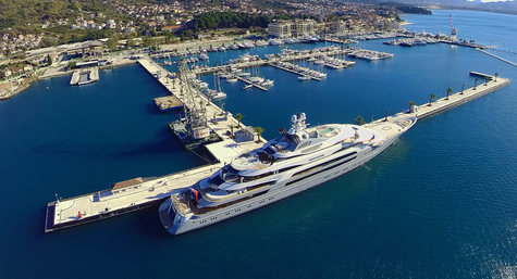 Porto Montenegro added a 250m berth
